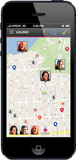 Family Locator for iPhone